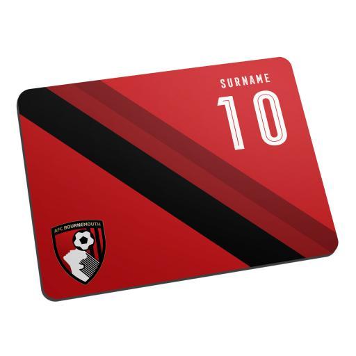 AFC Bournemouth Stripe Mouse Mat