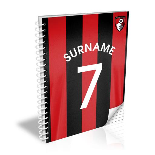AFC Bournemouth Shirt Notebook