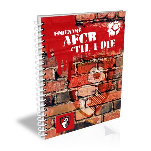 AFC Bournemouth 'Til I Die Notebook