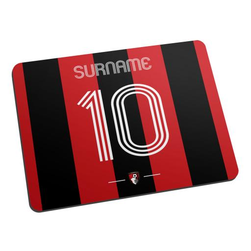 AFC Bournemouth Retro Shirt Mouse Mat