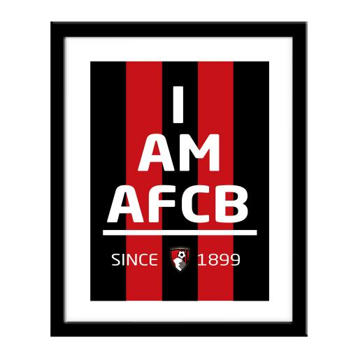 AFC Bournemouth I Am Print