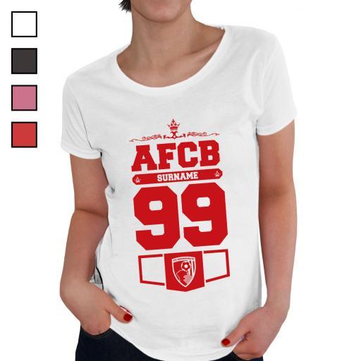 AFC Bournemouth Ladies Club T-Shirt