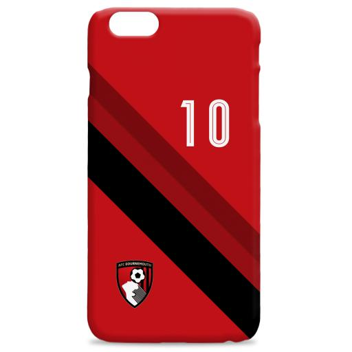AFC Bournemouth Stripe Hard Back Phone Case