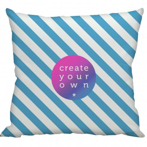 Create Your Own Cushion Cover - Smooth Linen - Double Sided print - 45cm x 45cm