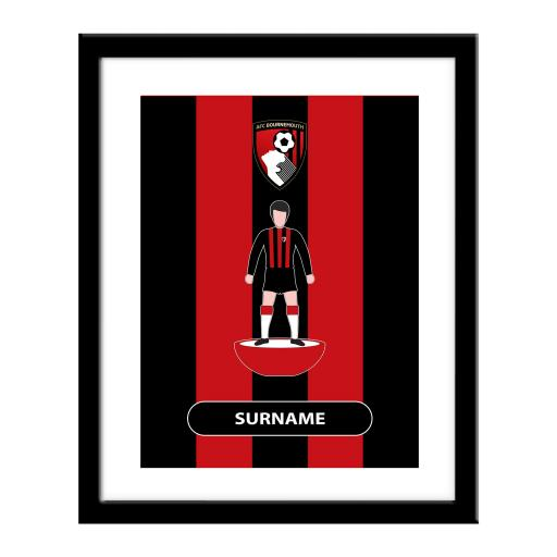 AFC Bournemouth Player Figure Print