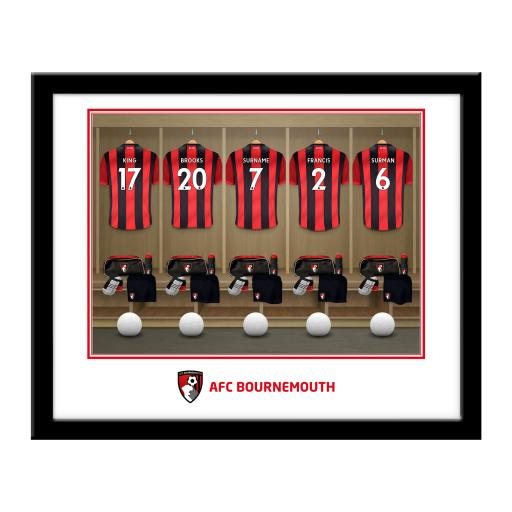 AFC Bournemouth Dressing Room Framed Print