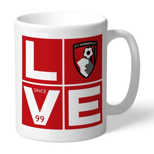 AFC Bournemouth Love Mug