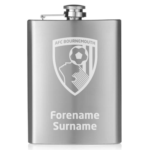 AFC Bournemouth Crest Hip Flask