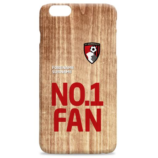 AFC Bournemouth No 1 Fan Hard Back Phone Case