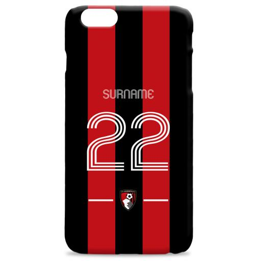 AFC Bournemouth Retro Shirt Hard Back Phone Case