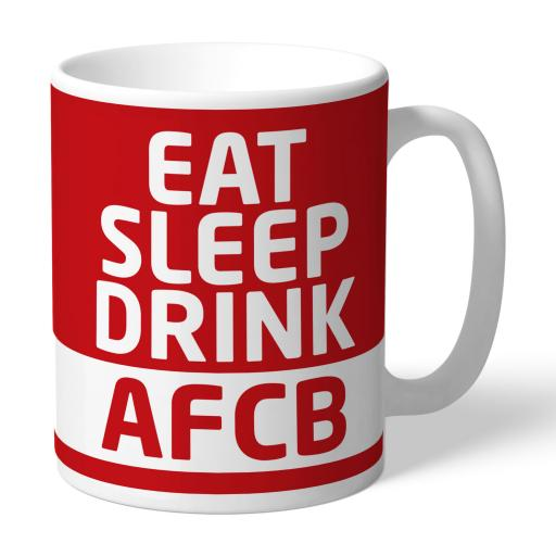 AFC Bournemouth Eat Sleep Drink Mug