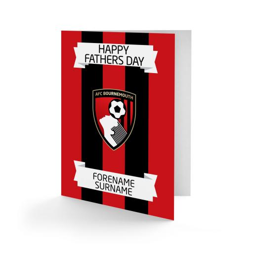 AFC Bournemouth Crest Father's Day Card
