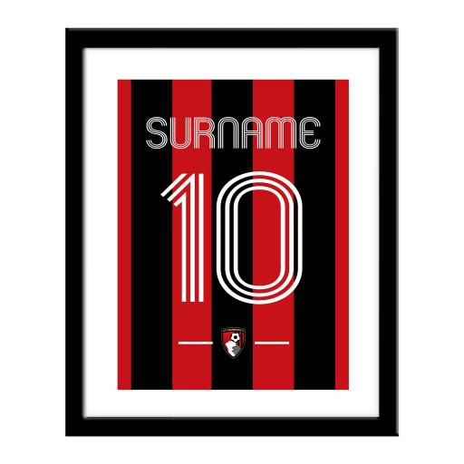 AFC Bournemouth Retro Shirt Print
