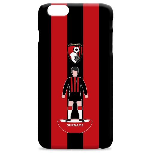 AFC Bournemouth Player Figure Hard Back Phone Case