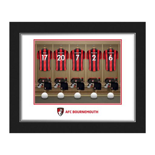 AFC Bournemouth Dressing Room Photo Folder