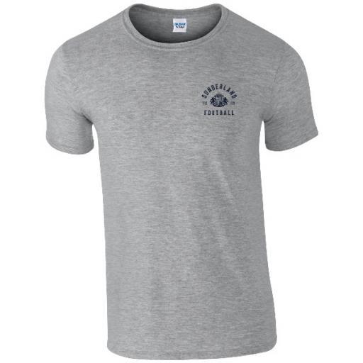 Sunderland AFC Vintage Badge T-Shirt