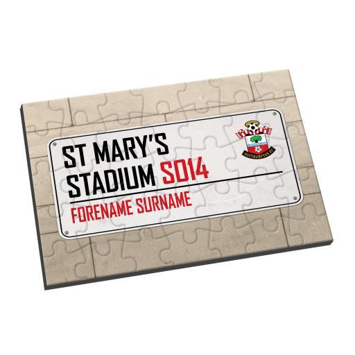 Southampton FC Street Sign Jigsaw