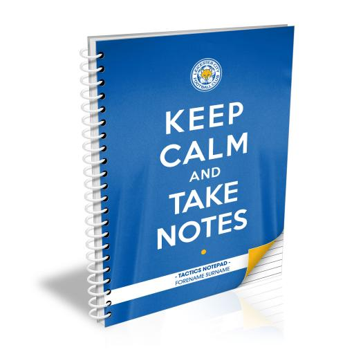 Leicester City FC Keep Calm Notebook