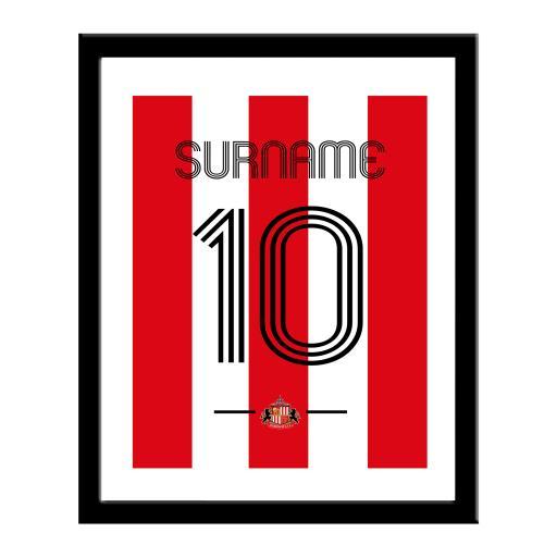 Sunderland AFC Retro Shirt Print
