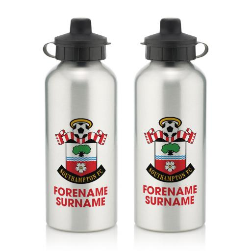 Southampton FC Bold Crest Water Bottle