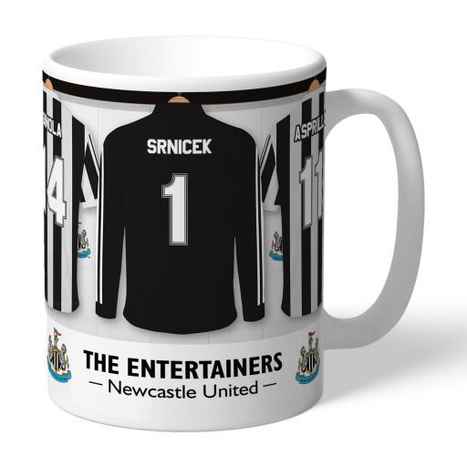 Personalised Newcastle United FC 'The Entertainers' Dressing Room Mug.