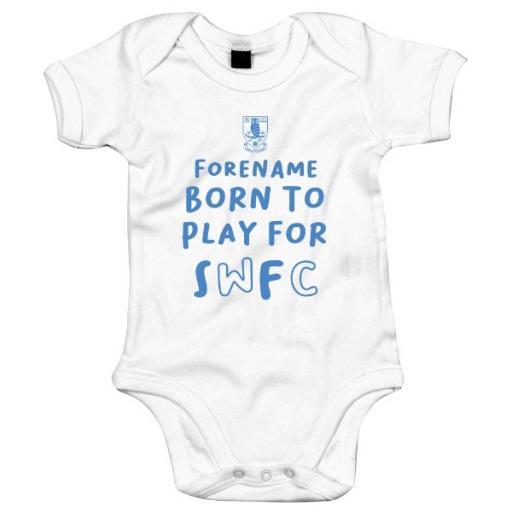 Sheffield Wednesday FC Born to Play Baby Bodysuit