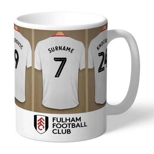Fulham FC Dressing Room Mug