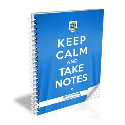 Huddersfield Town Keep Calm Notebook