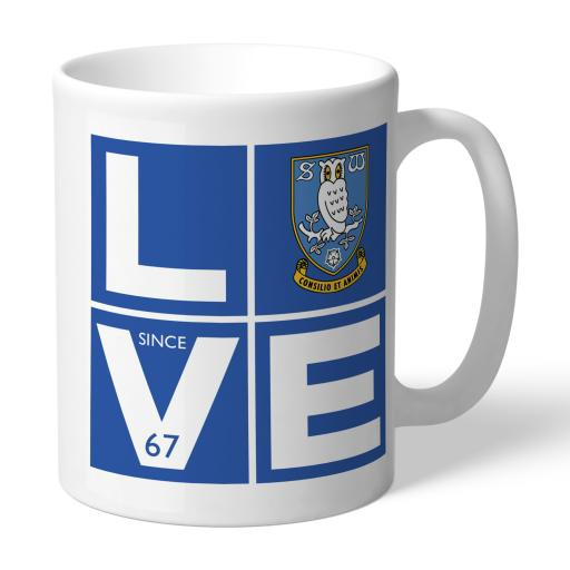 Personalised Sheffield Wednesday Love Mug.