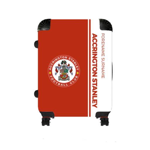 Accrington Stanley Crest Medium Suitcase