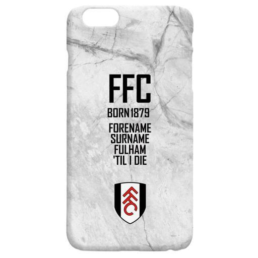 Fulham FC 'Til I Die Hard Back Phone Case