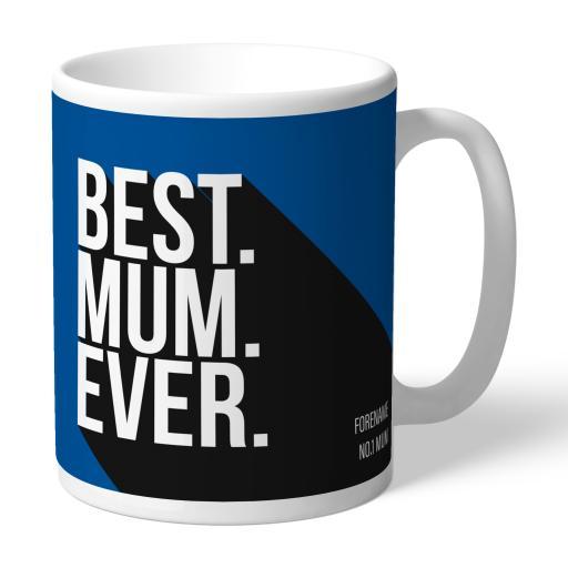 Personalised Birmingham City Best Mum Ever Mug.