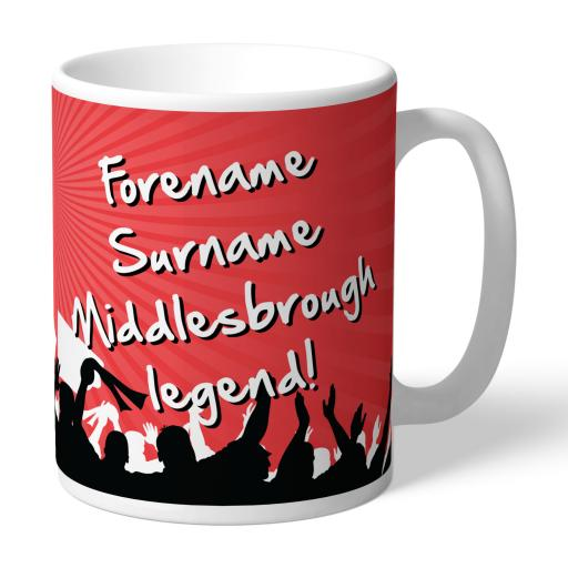 Middlesbrough FC Legend Mug