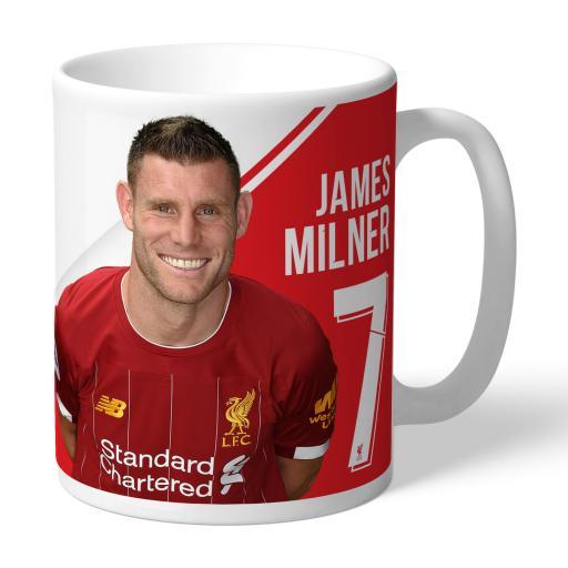 Liverpool FC Milner Autograph Mug