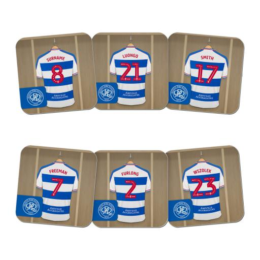 Queens Park Rangers FC Dressing Room Coasters