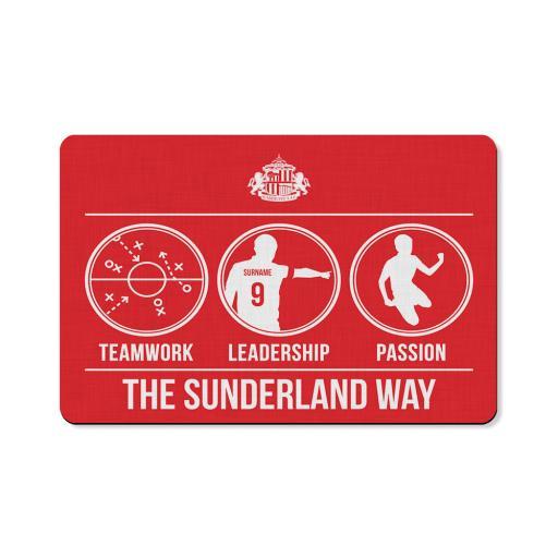 Sunderland AFC Way Floor Mat