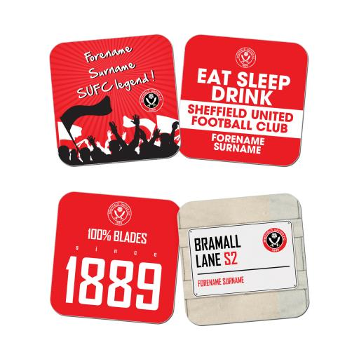 Sheffield United FC Coasters