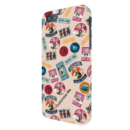 Aardman Wallace And Gromit Print iPhone 5/5s/5SE Clip Case