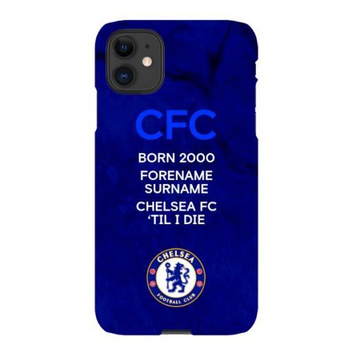 Chelsea FC 'Til I Die iPhone 11 Phone Case