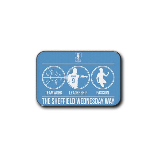 Personalised Sheffield Wednesday FC Way Rear Car Mat.