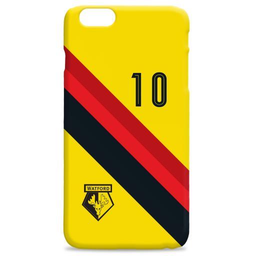 Watford FC Stripe Hard Back Phone Case