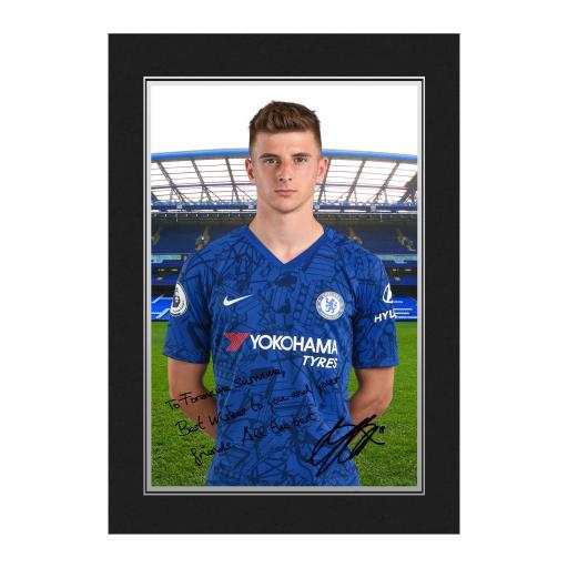 Chelsea FC Mount Autograph Photo Folder