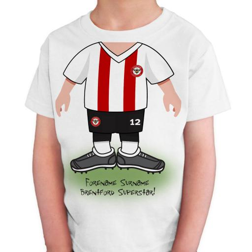 Brentford FC Kids Use Your Head T-Shirt