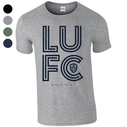 Leeds United FC Stripe T-Shirt
