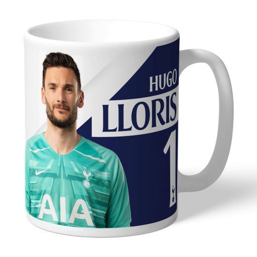 Tottenham Hotspur Lloris Autograph Mug