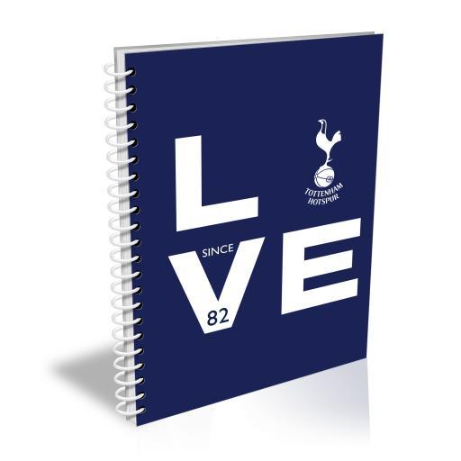 Tottenham Hotspur Love Notebook