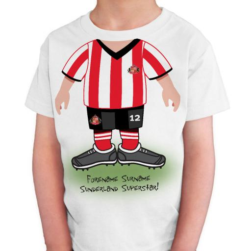 Sunderland AFC Kids Use Your Head T-Shirt