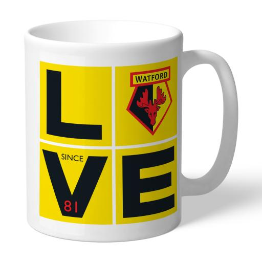 Watford FC Love Mug