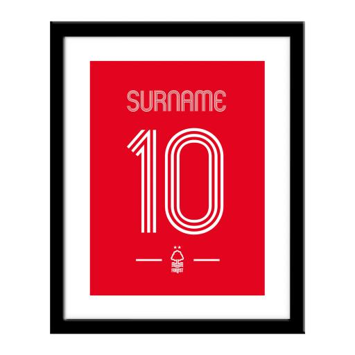Nottingham Forest FC Retro Shirt Print