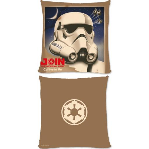 "Star Wars Rebels ""Join The Imperial Army"" Small Fibre Cushion"